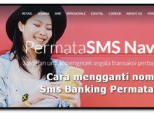 cara mengganti nomor hp sms banking permata