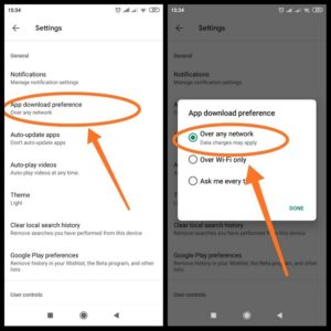 cara download play store di xiaomi
