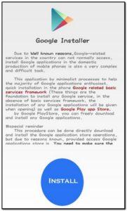 cara instal google installer