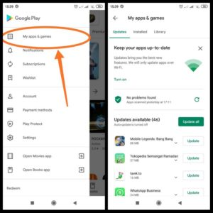 Settings playstore xiaomi