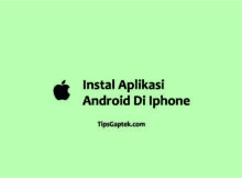 cara instal aplikasi android di iphone
