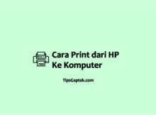 cara ngeprint dari hp ke komputer