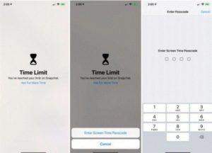 set kode sandi untuk mengunci apps on iphone