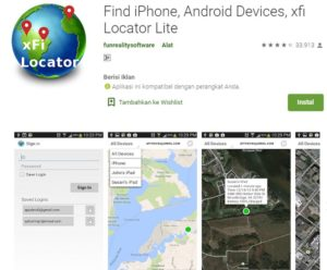 xfi locator aplikasi melacak iphone
