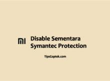 cara menonaktifkan symantec endpoint protection