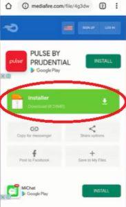 klik tombol download installer lucky pacher