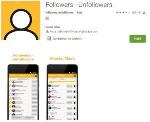 aplikasi mencari ghost followers di instagram