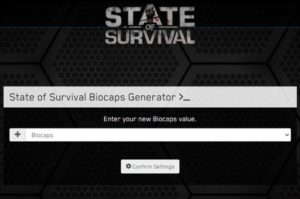 biocaps state of survival tools