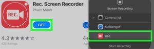 rekam wa menggunakan aplikasi rec screen recorder