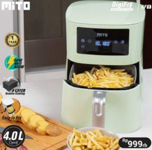 MITO MITOCHIBA Digital Air Fryer low watt