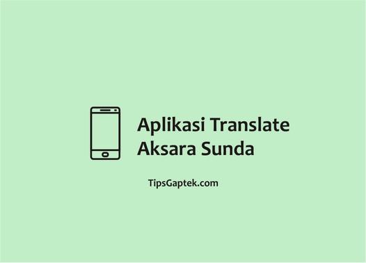 translate aksara sunda android